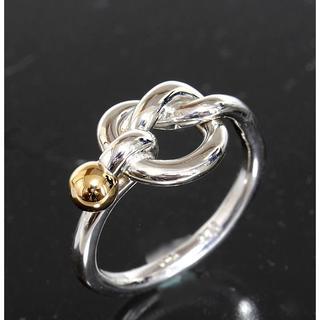 ティファニー(Tiffany & Co.)のティファニー TIFFANY&CO. フック&アイ コンビ リング 8号(リング(指輪))