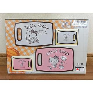 ハローキティ - ハローキティ  ビンテージコミックスまな板  ピンク色  新品