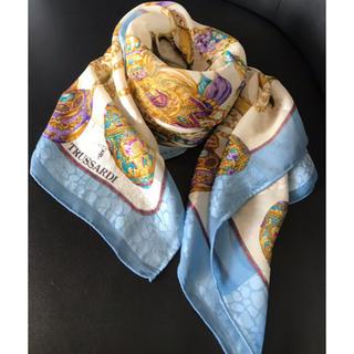 トラサルディ(Trussardi)の未使用品☆トラサルディ/スカーフ・シルク100%(バンダナ/スカーフ)