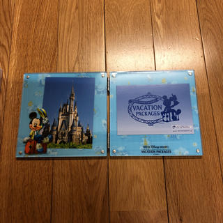 ディズニー(Disney)のディズニーバケーションパッケージ 写真立て ディズニーリゾート35周年(ノベルティグッズ)