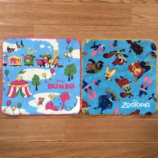 ディズニー(Disney)のディズニー ミニタオル 2枚セット(ハンカチ)