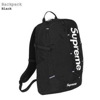 シュプリーム(Supreme)のSupreme 17ss Backpack Black(バッグパック/リュック)