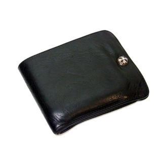 クロムハーツ(Chrome Hearts)のクロムハーツCHROMEHEARTS■1SNAP/1スナップレザーウォレット財布(折り財布)