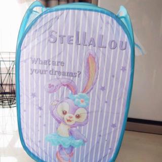 ステラ・ルー - 新品♡ステラルー  ランドリーバスケット  折りたたみ かご おもちゃ入れ
