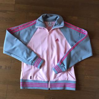 アディダス(adidas)のピンクジャージ(ルームウェア)