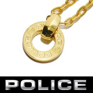 ポリス(POLICE)のポリス POLICE ネックレス メンズ ゴールド 金色 ペンダント アクセ(ネックレス)