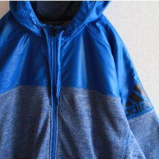 adidas - US アディダス climawarm 2トーン 撥水 ジップパーカー Blue