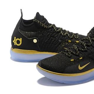ナイキ(NIKE)のNIKE KD11black yellow(バスケットボール)