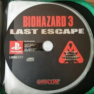 プレイステーション(PlayStation)のバイオハザード3(家庭用ゲームソフト)