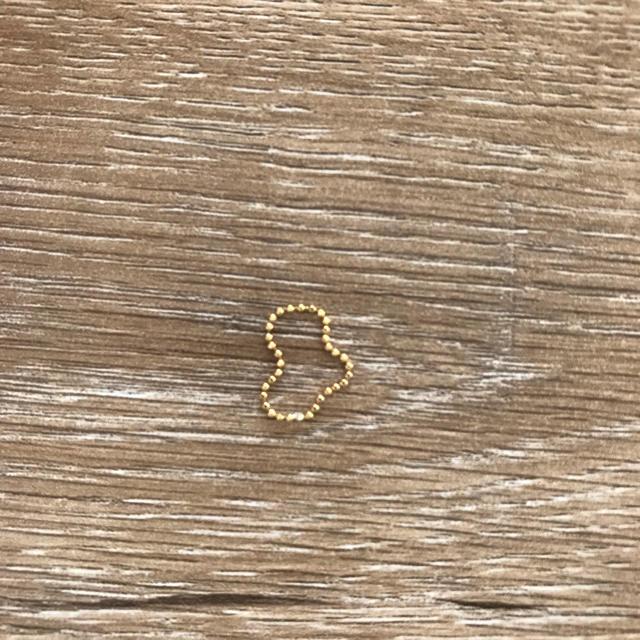 nano・universe(ナノユニバース)のゴールドリング レディースのアクセサリー(リング(指輪))の商品写真