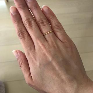 ナノユニバース(nano・universe)のゴールドリング(リング(指輪))