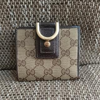 グッチ(Gucci)のGUCCI GG コンパクト折り財布 (折り財布)