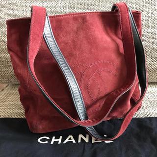 シャネル(CHANEL)のおそら様 専用です♡CHANEL シャネル スウェード デカココ トートバッグ (ショルダーバッグ)