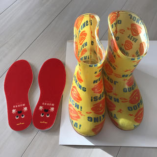 eaB - 17cm 長靴 レインブーツ eab