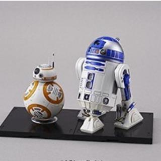 バンダイ(BANDAI)の新品未開封★STAR WARS スターウォーズ R2-D2 BB-8 プラモデル(SF/ファンタジー/ホラー)