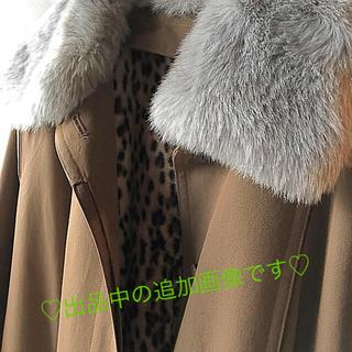 ロペ(ROPE)のおしゃれなライナー付きロングコート  襟ファー付♡あったか(ロングコート)