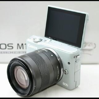 キヤノン(Canon)の超可愛いグレーでWi-Fi対応!!キャノン EOS M10 レンズセット♪(ミラーレス一眼)