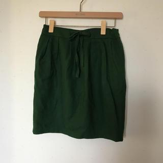 アーモワールカプリス(armoire caprice)のグリーン ミニスカート(ミニスカート)