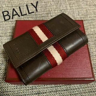 バリー(Bally)のバリー 美品 メンズ カーフスキンレザー×キャンバス 6連 キーケース ホルダー(キーケース)