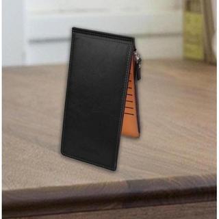 ☆機能◎☆ レザー 二つ折 長財布 カードホルダー 16 ポケット 黒(長財布)