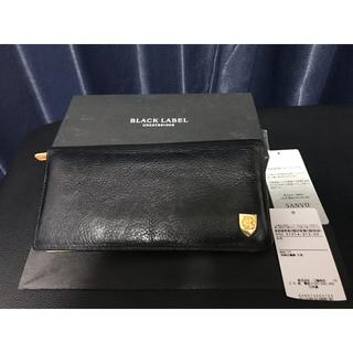 バーバリーブラックレーベル(BURBERRY BLACK LABEL)のバーバリーブラックレーベルクレストブリッジ 長財布(長財布)