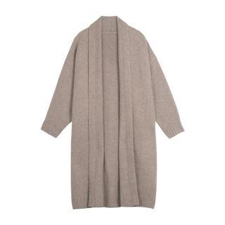 セーターの上着。(ロングコート)