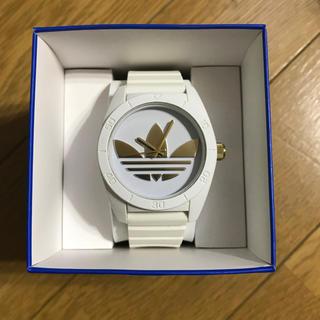 アディダス(adidas)のアディダス 時計 白(腕時計)