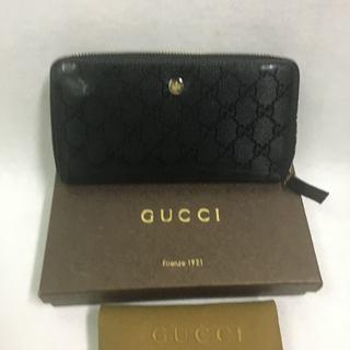 グッチ(Gucci)のグッチ ビジネス長財布 ブラック(長財布)