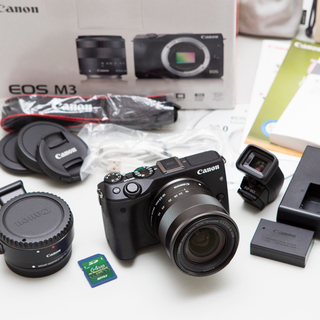 Canon EOS M3 ミラーレスカメラ(ミラーレス一眼)