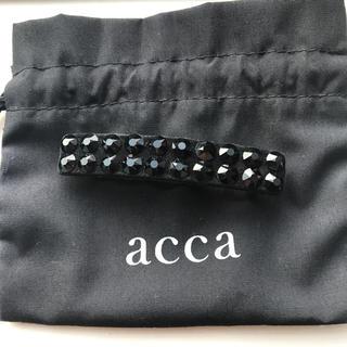 アッカ(acca)のacca ヘアバレッタ(バレッタ/ヘアクリップ)