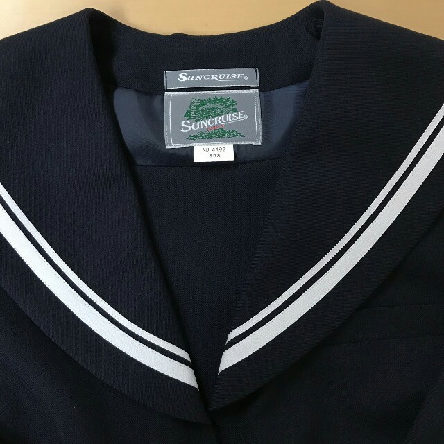 7520bf56bdc 中学 高校 制服 セーラー服 上衣 冬服 ②の通販 by 店舗太郎's shop|ラクマ