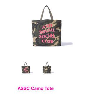シュプリーム(Supreme)のASSC Camo Tote アンチソーシャルソーシャルクラブ トートバッグ(トートバッグ)