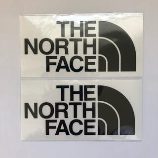 THE NORTH FACE - 【国内正規品】THE NORTH FACE カッティングロゴステッカー2枚セット