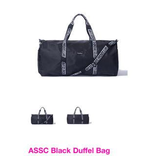 シュプリーム(Supreme)のASSC Black Duffel Bag アンチソーシャルソーシャルクラブ(ボストンバッグ)