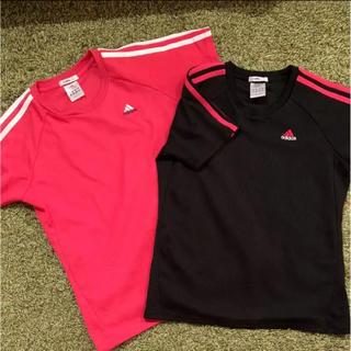アディダス(adidas)のadidas Tシャツ 2枚セット(ウェア)