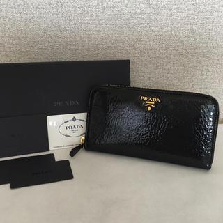 PRADA - 美品 プラダ 財布 黒
