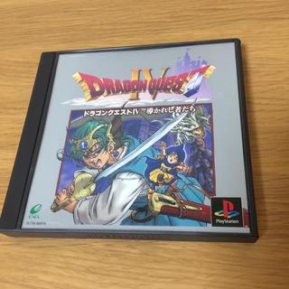 プレイステーション(PlayStation)のドラゴンクエスト4 ps版(家庭用ゲームソフト)