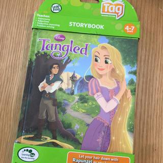 ディズニー(Disney)の【T023】リープフロッグ(LeapFrog) タングルド 塔の上のラプンツェル(絵本/児童書)