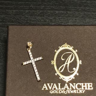 アヴァランチ(AVALANCHE)のアバランチ 10K クロスペンダントヘッド(ネックレス)
