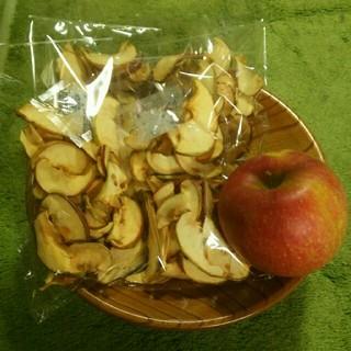 信州産フジ リンゴチップス4袋 ドライフルーツ(フルーツ)