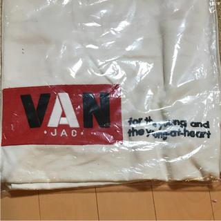 ヴァンヂャケット(VAN Jacket)の新品!VAN  JAC トートバッグ ロゴ刺繍(トートバッグ)