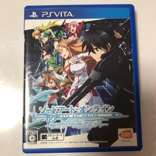 プレイステーションヴィータ(PlayStation Vita)の即購入可能 ソードアート・オンライン ホロウ・フラグメント(携帯用ゲームソフト)