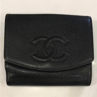 シャネル(CHANEL)のシャネル!お財布!黒!ココマーク(財布)
