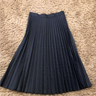 ZARA - ZARA ロングプリーツスカート