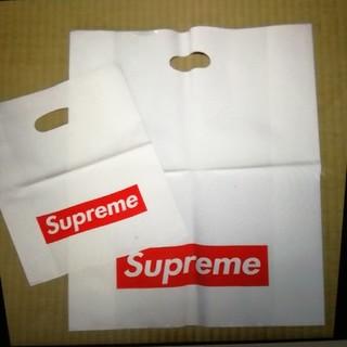 シュプリーム(Supreme)のSupreme  ショッパー  2枚  新品(ノベルティグッズ)