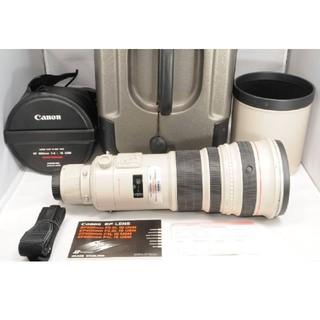キヤノン(Canon)の良品 キャノン CANON EF 500mm F4 L IS USM ケ-ス付き(レンズ(単焦点))