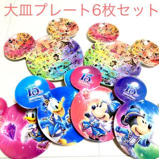 ディズニー(Disney)の新品 ディズニーリゾート 大皿メラミンプレート 6枚セット♡(食器)