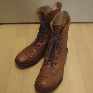ショセ(chausser)のchausser ショセミドル丈ブーツ(ブーツ)