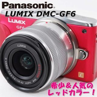 パナソニック(Panasonic)の☆WiFi搭載&自撮り☆ パナソニック DMC-GF6 プレゼント付!(ミラーレス一眼)
