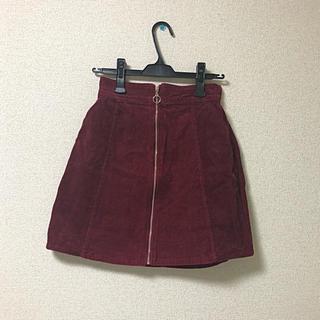 アズノウアズ(AS KNOW AS)のコーデュロイスカート(ひざ丈スカート)